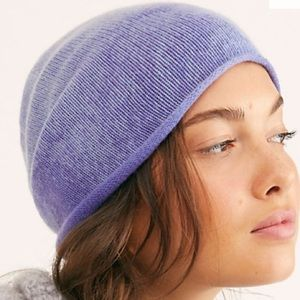 Free People🎉Soft Gaze Washed Cashmere Beanie🎉